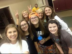 Proof of said group selfie